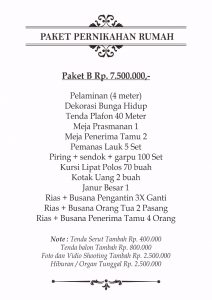 Rias Pengantin Dekorasi Murah Kampung Tengah 082298385915